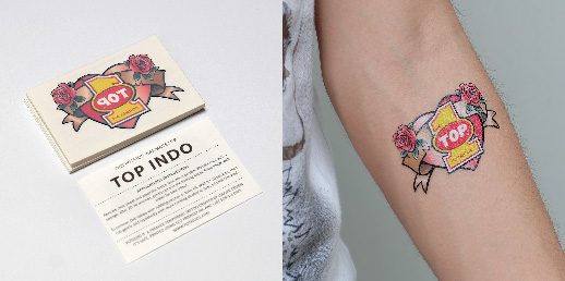 Why use sticker tattooo marketing sticker tattoo helps you stick out in the minds of busy customers sticker tattoo works wonders as a media